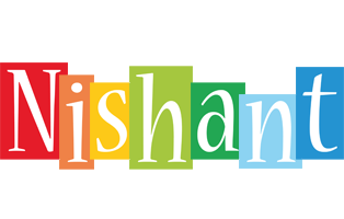 Nishant colors logo