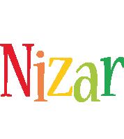 Nizar birthday logo