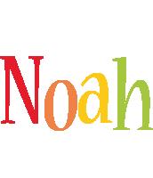 Noah birthday logo