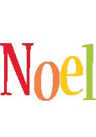 Noel birthday logo