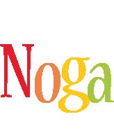 Noga birthday logo
