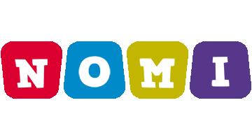 Nomi kiddo logo