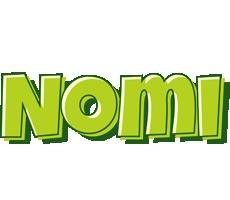 Nomi summer logo