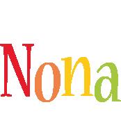 Nona birthday logo