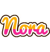 Nora smoothie logo