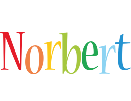 Norbert birthday logo