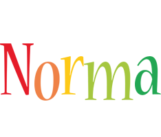 Norma birthday logo