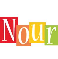 Nour colors logo
