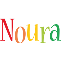 Noura birthday logo