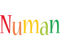 Numan birthday logo