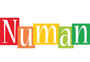 Numan colors logo