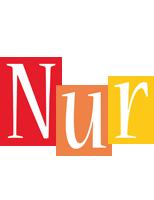 Nur colors logo