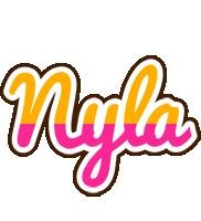 Nyla smoothie logo