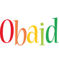 Obaid birthday logo