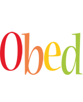 Obed birthday logo