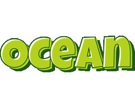 Ocean summer logo