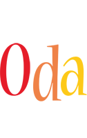 Oda birthday logo