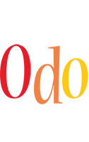 Odo birthday logo