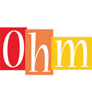 Ohm colors logo
