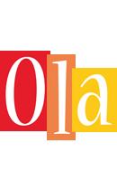 Ola colors logo