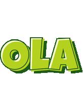 Ola summer logo