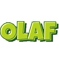 Olaf summer logo