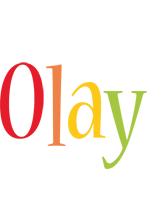 Olay birthday logo