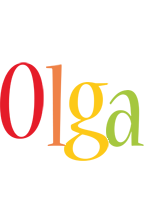 Olga birthday logo