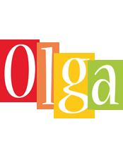 Olga colors logo