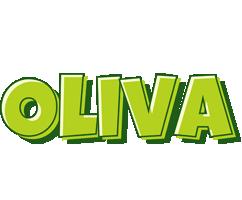 Oliva summer logo