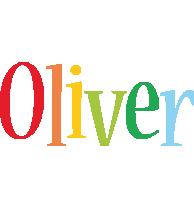 Oliver birthday logo