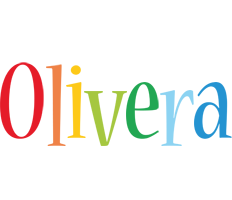 Olivera birthday logo