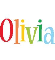 Olivia birthday logo