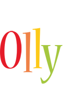 Olly birthday logo