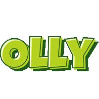 Olly summer logo