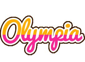 Olympia smoothie logo
