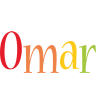Omar birthday logo