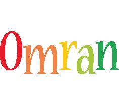 Omran birthday logo