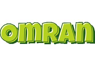 Omran summer logo