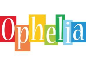 Ophelia colors logo