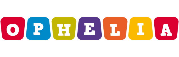 Ophelia kiddo logo