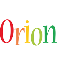 Orion birthday logo