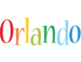 Orlando birthday logo
