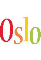 Oslo birthday logo