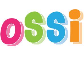 ossi logo name logo generator kiddo i love colors style. Black Bedroom Furniture Sets. Home Design Ideas
