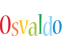 Osvaldo birthday logo