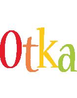 Otka birthday logo