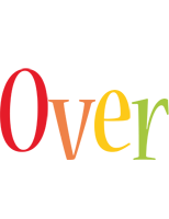 Over birthday logo