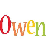 Owen birthday logo