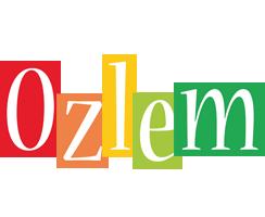Ozlem colors logo